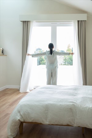 快適な寝室の作り方5:結露&カビを防いで清潔に