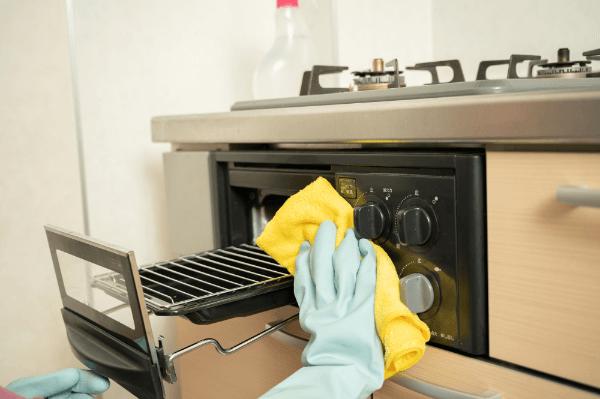 魚焼きグリルの焦げの掃除方法