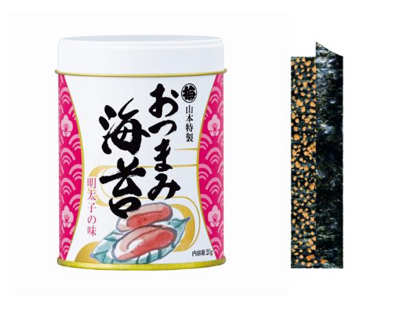 山本特製「おつまみ海苔」明太子の味 648円(税込)