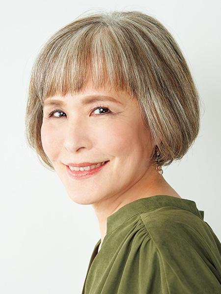白髪染め卒業歴約5年 安田敦子さん(60歳)