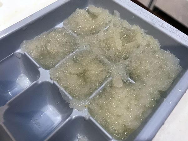 大根をすりおろして冷凍する方法