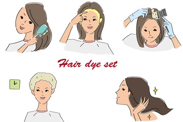 正しい白髪染めの方法