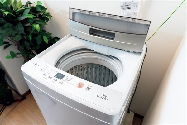 夏の掃除:洗濯機は除菌&フタを開けて乾燥を