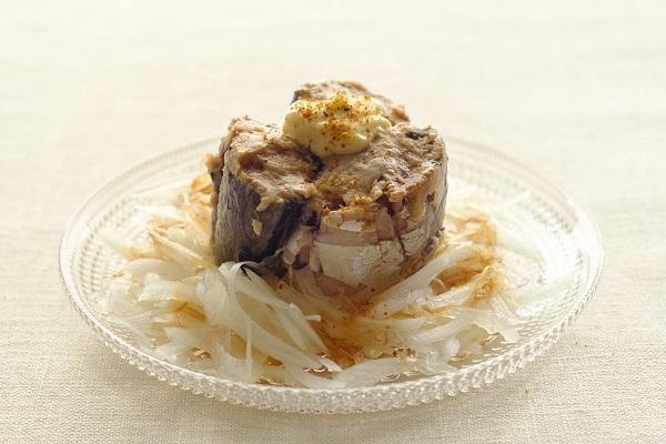 時短レシピ:サバ缶オニオン