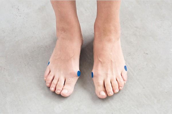 足囲を測るときの起点