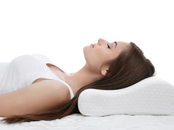 快眠できる枕の形
