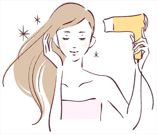 髪の乾燥対策の方法