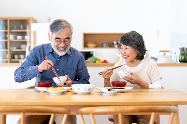 夫婦の食事時間