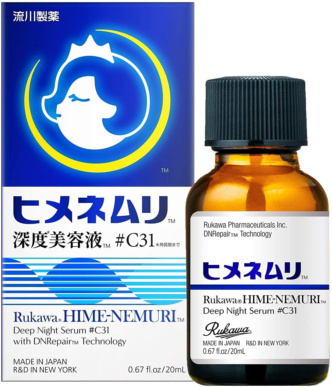 「美容液 ヒメネムリ」¥2,980(税抜)(流川製薬)