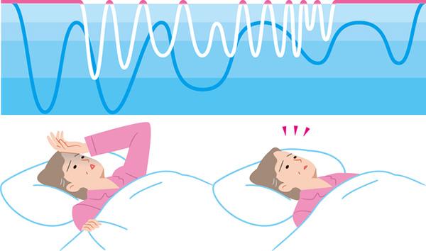 日中の眠気がひどい場合は、睡眠障害の可能性も