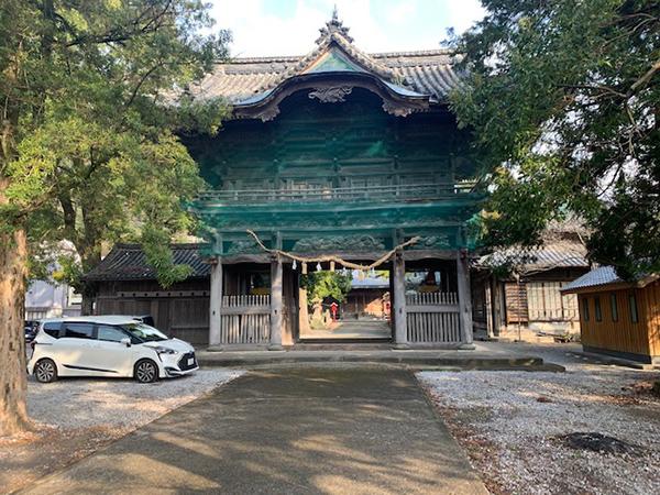 幼い頃のお祭り場所だった神社