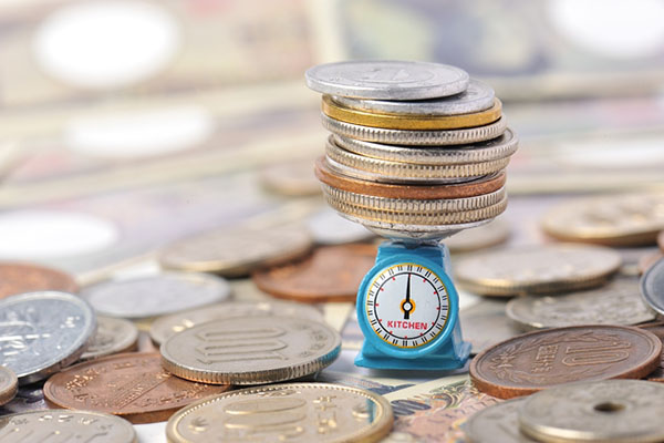 お金を図るイメージ