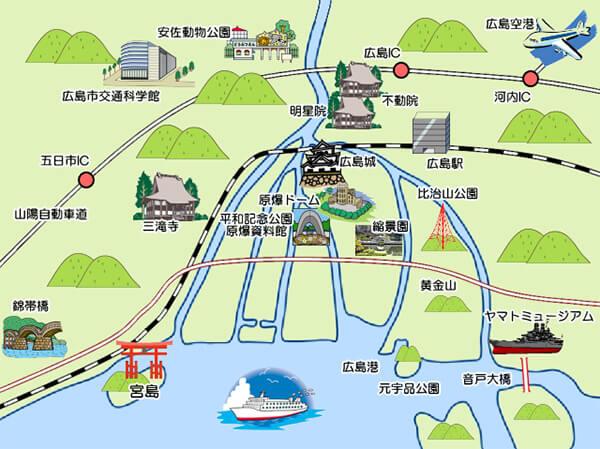 広島市の6本の川