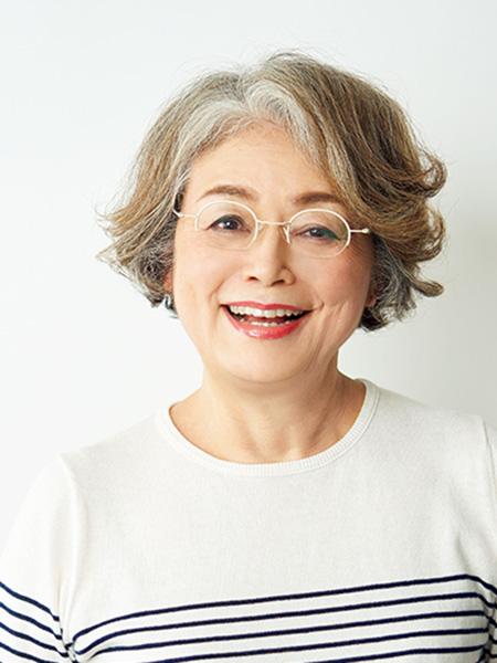 白髪染め卒業歴約2年 Rinkoさん(68歳)