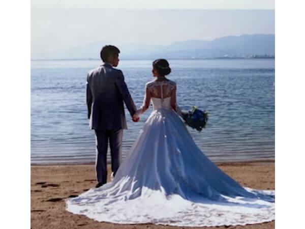 孫息子が結婚!きものリフォームドレスで披露宴に参加