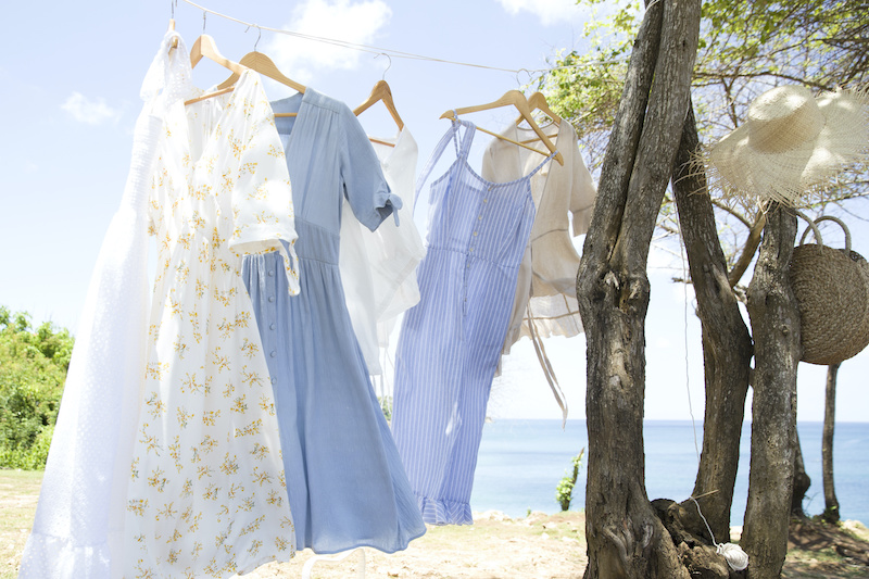 衣替え前の晴れた日にしまい洗いを!