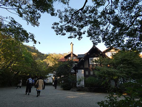 秋のアサヒビール大山崎山荘