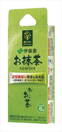 お~いお茶お抹茶POWDER(スティック6本入)