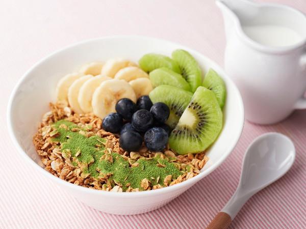 健康レシピ:抹茶グラノーラ