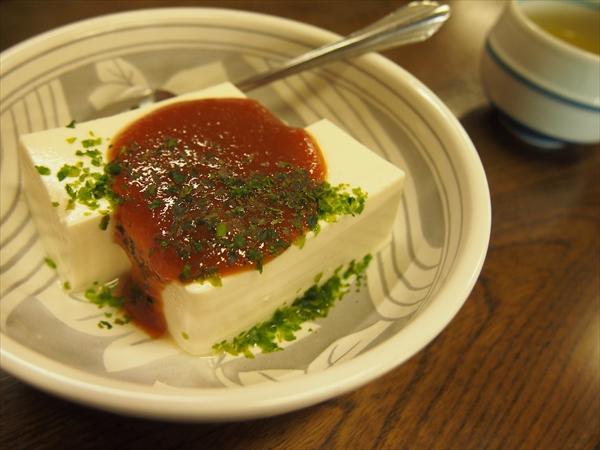 大山名物の豆腐料理