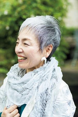 青木富士子さん(62歳)の髪型:サイド