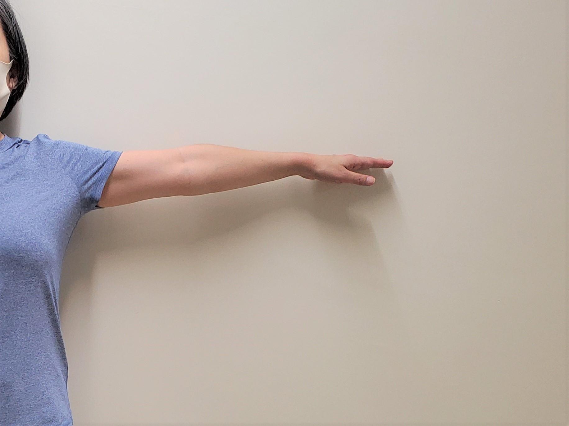 肩甲骨の状態をチェック1