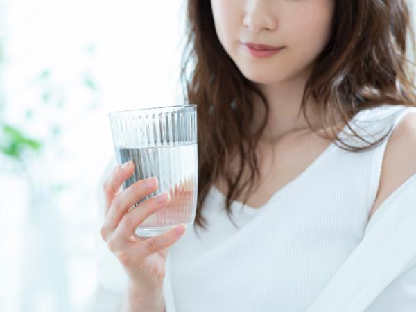 お水を取ることは美しい肌になるための基本