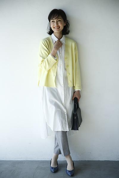 どんな色とも相性のいい「黄色」は大人世代の万能色!