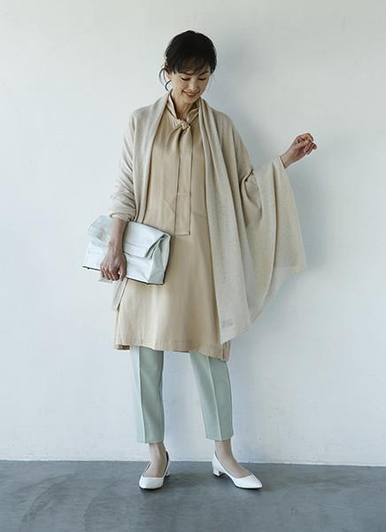 「ミントグリーン」は淡い色合わせで柔らかい雰囲気に